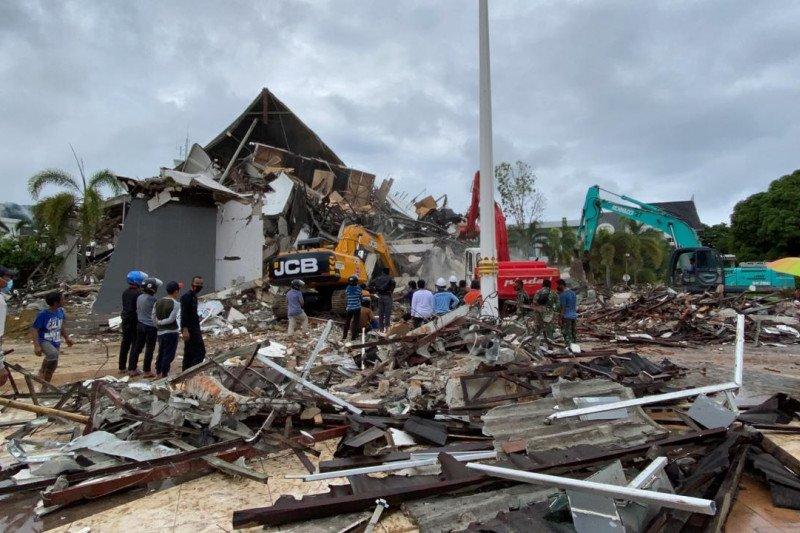 Sebanyak 103 satuan pendidikan rusak akibat gempa Sulbar