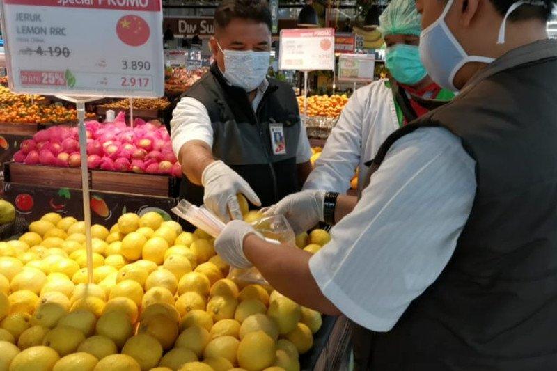 Pantauan DKPKP DKI  harga telur stabil usai digelar pangan murah