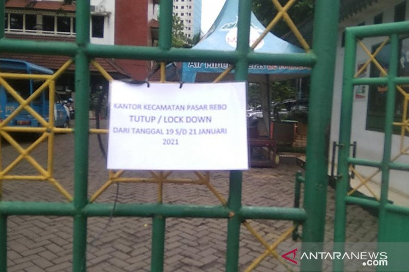 Pegawai tertular COVID-19, Kantor Kecamatan Pasar Rebo tutup tiga hari
