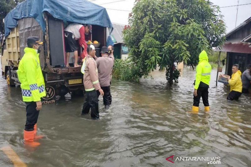 Kapolres Banjarbaru minta warga waspada meski debit air mulai turun