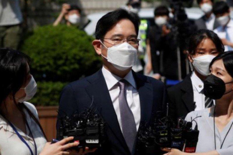 Pewaris Samsung kembali masuk bui, dijatuhi hukuman 2,5 tahun penjara