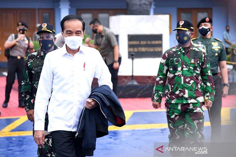 Presiden tinjau lokasi gempa Sulawesi Barat