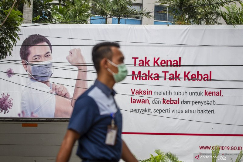 Pertambahan kasus COVID-19 Jakarta pecahkan rekor pada Rabu