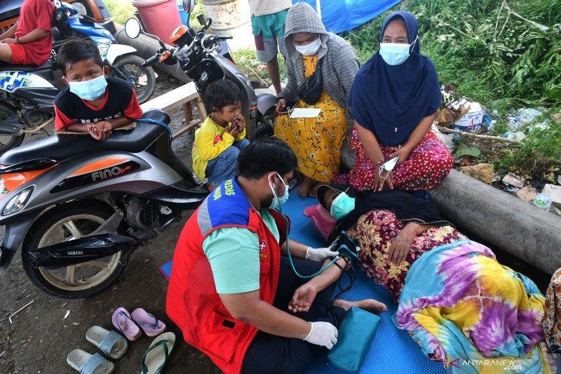 Pertamina berikan bantuan medis ke pengungsi gempa