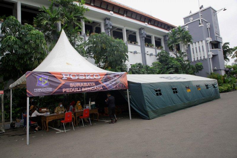 Posko peduli bencana kembali dibuka di Surabaya