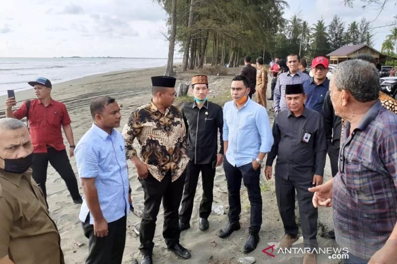 Pengerukan pasir pantai secara ilegal di Nagan Raya sebabkan abrasi