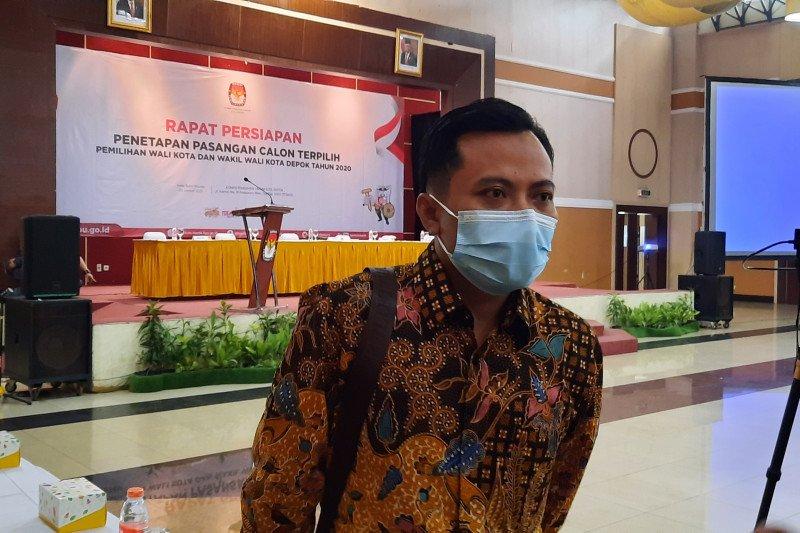 KPU Depok tunda tetapkan pasangan calon terpilih pilkada