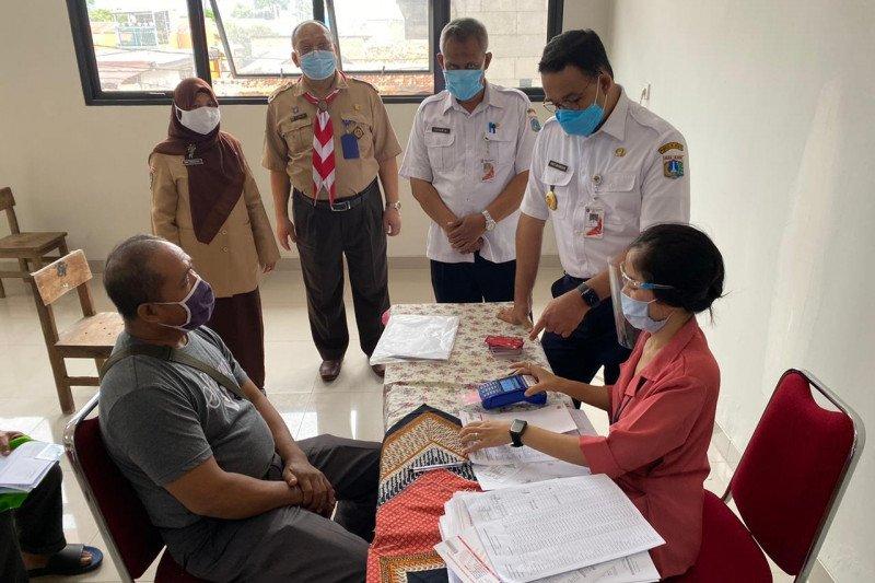 Distribusi BST Jakarta dibatasi 500 orang per titik per hari