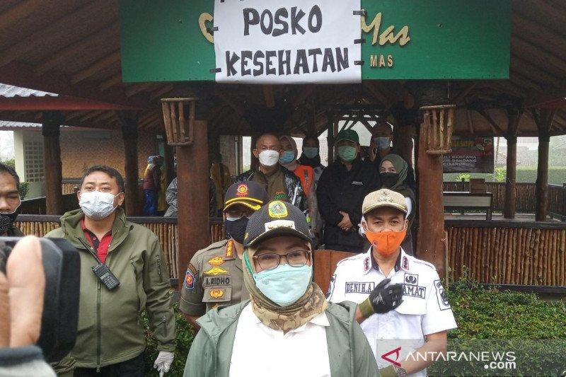 Cegah kerumunan, Pemkab Bogor bagi pengungsi Gunung Mas ke lima lokasi