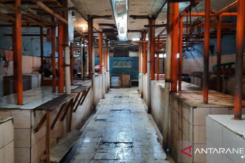 Pedagang daging sapi di Jakbar hanya ada di Pasar Pecah Kulit