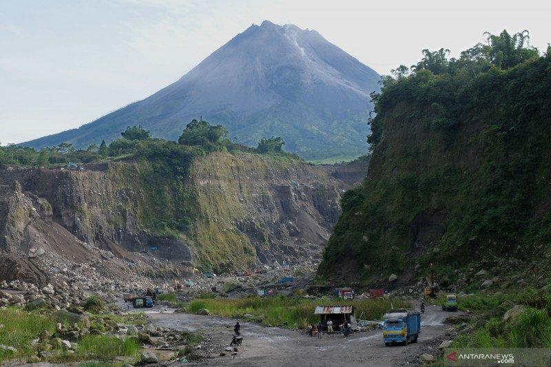 BPPTKG sebut volume kubah lava Gunung Merapi masih tergolong kecil
