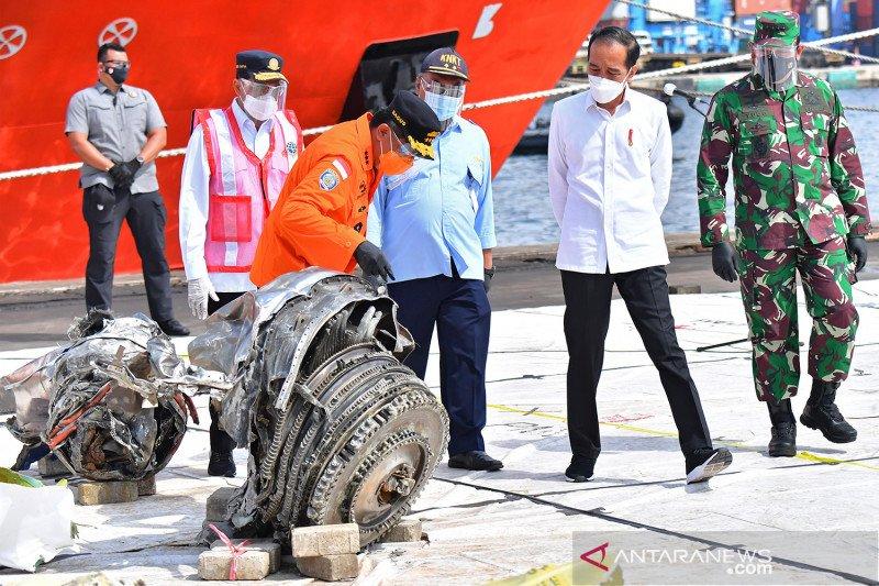 KNKT: pesawat SJ 182 tidak lintasi awan yang sebabkan turbulensi