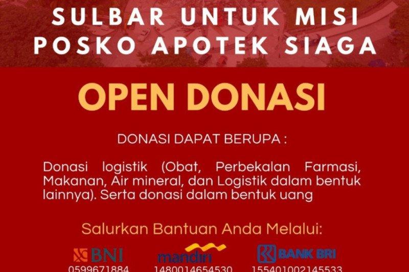 PRC Unhas galang donasi untuk Posko Apotek Siaga Sulbar