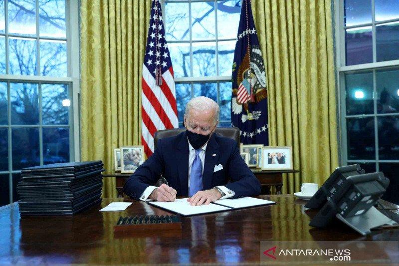 Gedung Putih sebut Biden akan bahas Iran dengan mitra asing