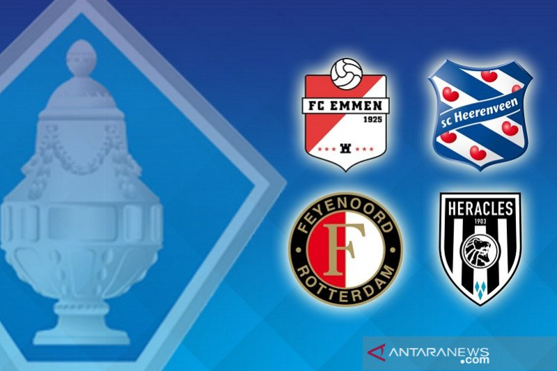 Feyenoord dan Heerenveen lanjut ke perempat final Piala KNVB