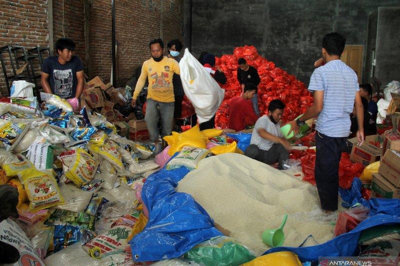 Pemkot Palu bantu logistik untuk korban bencana di Sulbar