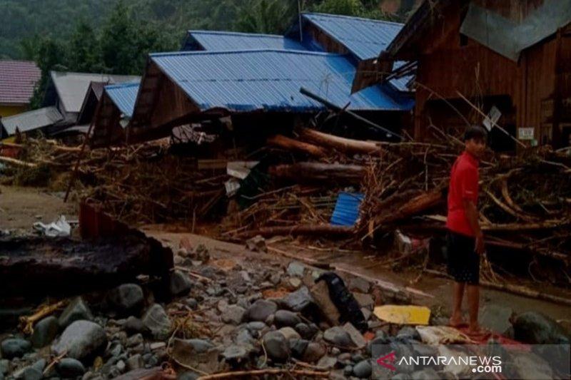 Dua desa di Hulu Sungai Tengah masih terisolasi pascabanjir