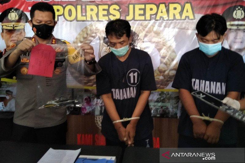 Polres Jepara ungkap pencurian spesialis mobil kuno lintas provinsi