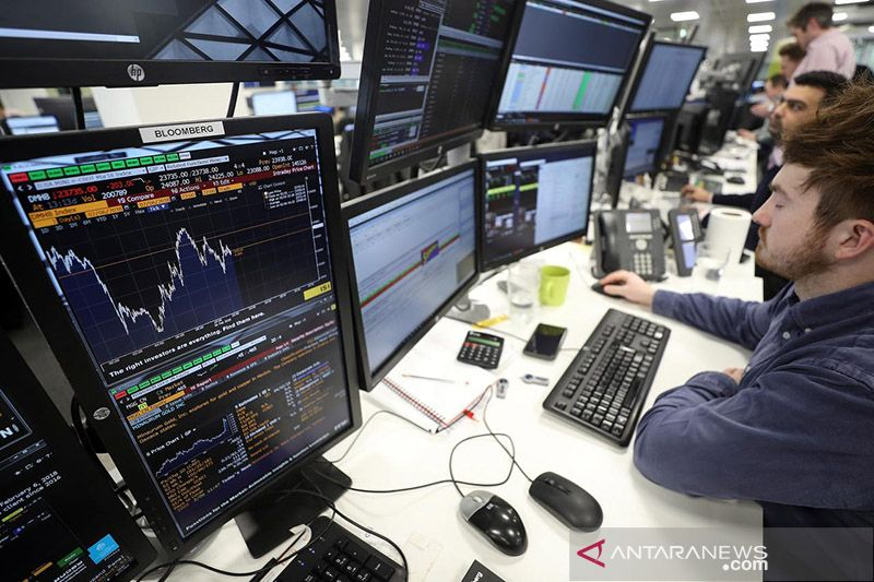 Saham Inggris setop keuntungan, Indeks FTSE 100 jatuh 0,65 persen