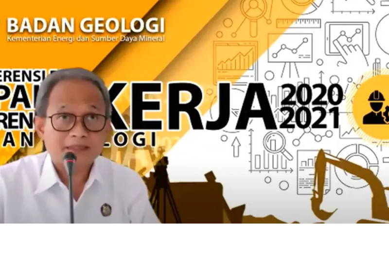 Pada 2020, Kementerian ESDM hasilkan 27 rekomendasi survei geologi