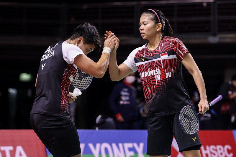 Greysia/Apriyani bertekad gusur Lee/Shin di semifinal Thailand Open II