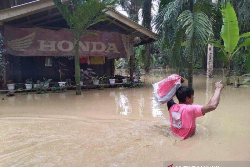 Banjir 1 meter lebih, ribuan warga Aceh Tamiang mengungsi