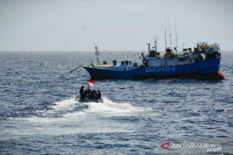 KKP: Kekosongan Laut Natuna Utara akibatkan banyak kapal ikan asing