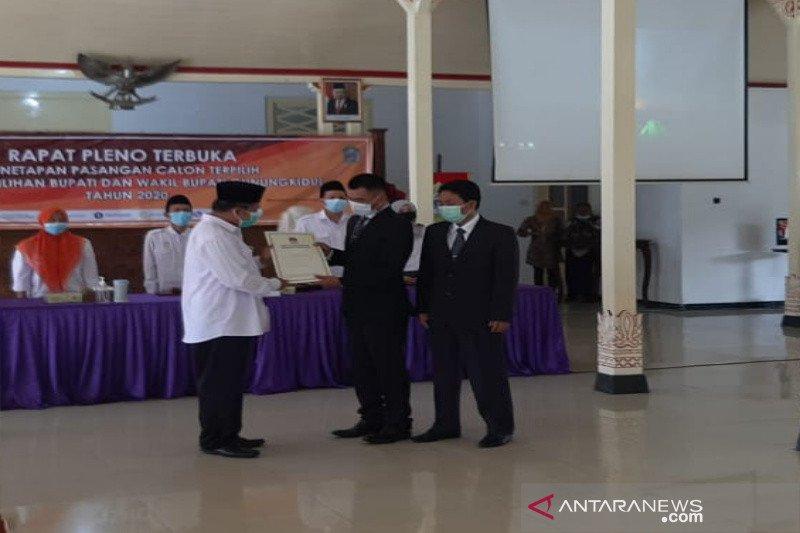 Bupati dan Wakil Bupati Gunung Kidul terpilih ditetapkan