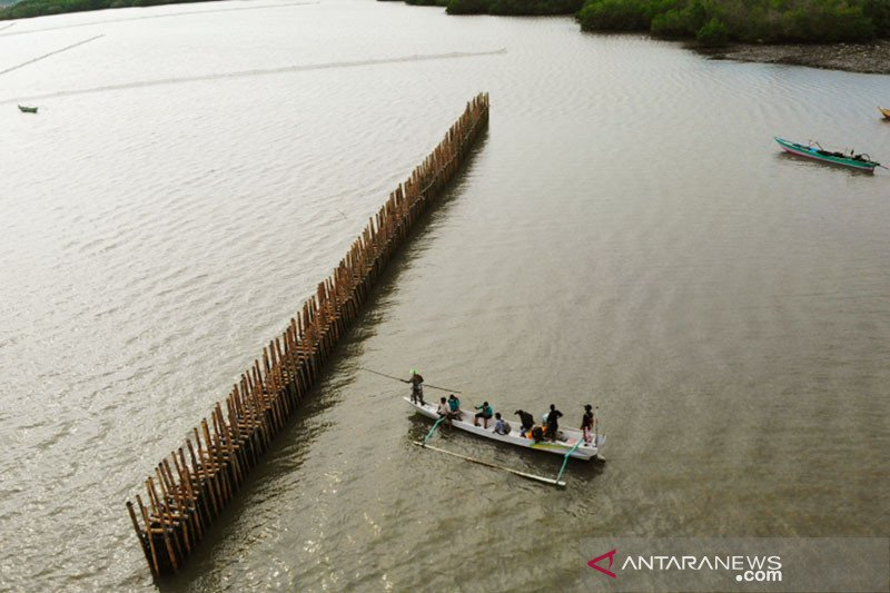 KKP bangun pelindung pantai sepanjang 330 meter di Lombok Timur