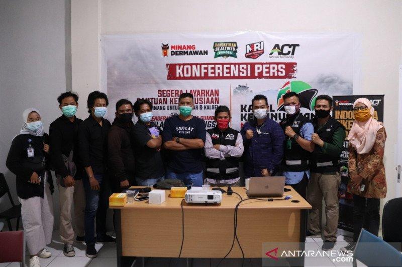 ACT Sumbar bantu korban terdampak gempa di Sulawesi Barat