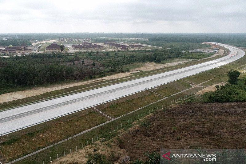 Progres konstruksi Tol Pekanbaru-Bangkinang capai 56 persen