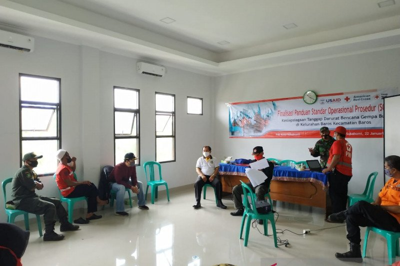 PMI Sukabumi finalisasi SOP penanganan dan kesiapsiagaan bencana gempa