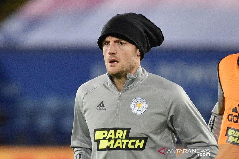 Jalani operasi hernia, Jamie Vardy absen beberapa pekan dari Leicester