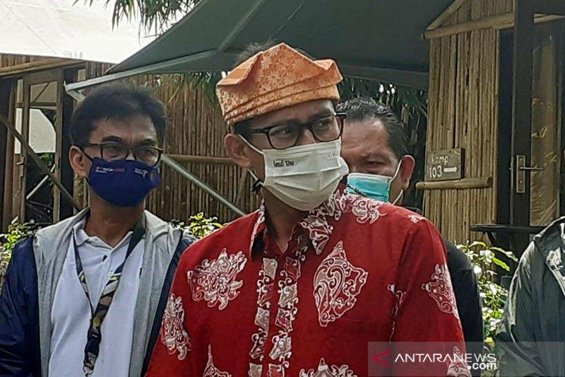 Menparekraf Sandiaga optimis vaksinasi bangkitkan pariwisata RI 2021