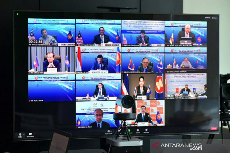 Indonesia dorong kolaborasi ASEAN percepat transformasi digital