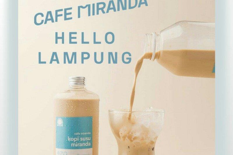Padukan kedai kopi dan butik, kafe Miranda hadir di Lampung