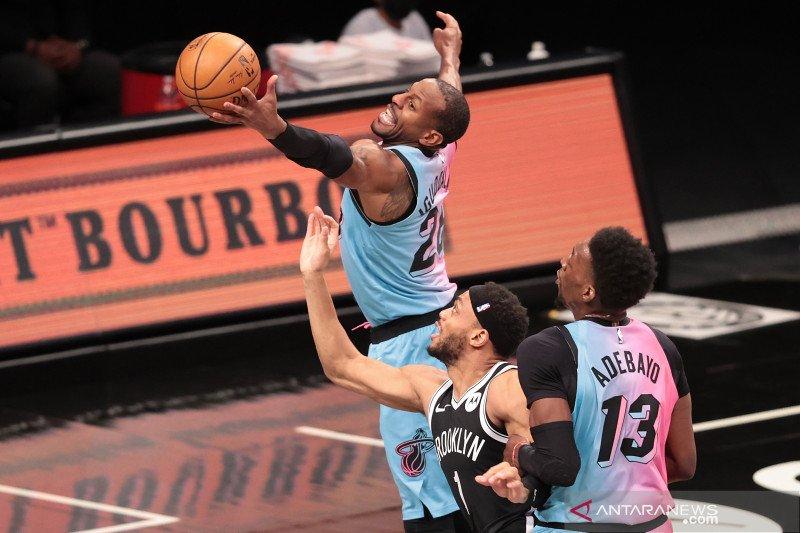 NBA: Brooklyn Nets  kalahkan Miami Heat 128 - 124