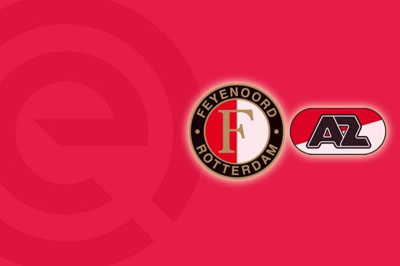 Feyenoord tumbang di tangan AZ Alkmaar