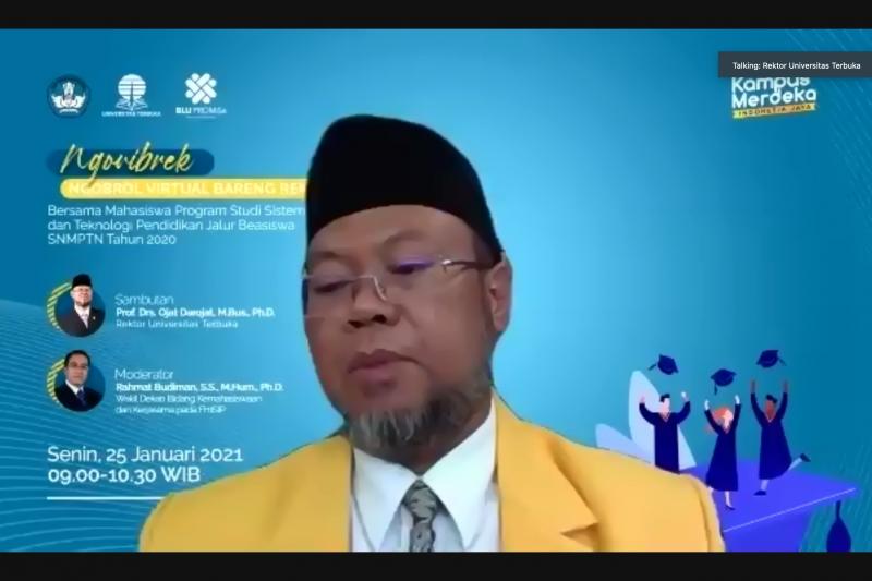 Rektor tegaskan ijazah UT memiliki civil effect seperti PTN lainnya