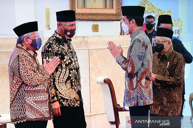 Presiden Jokowi : Potensi wakaf uang bisa tembus Rp188 triliun