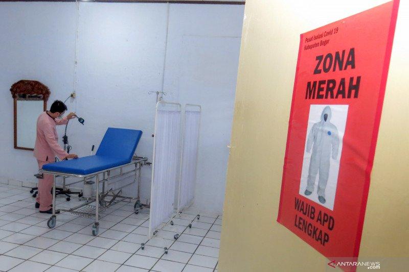 Pusat isolasi pasien COVID-19 di Kabupaten Bogor