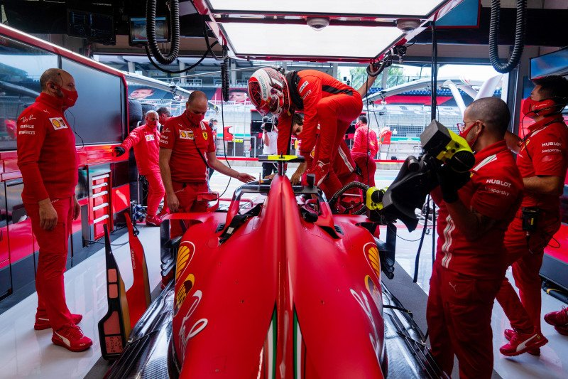 Hari ini, Ferrari awali sesi tes privat di Fiorano