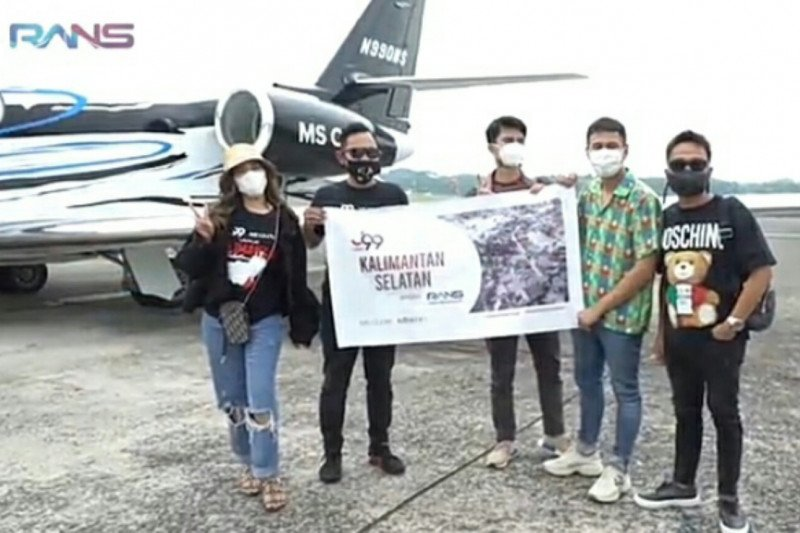 Raffi Ahmad bantu donasi korban banjir Kalimantan Selatan