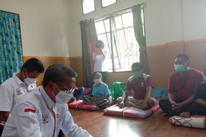 Sulsel kembali pulangkan dua pengungsi Sulbar ke Ambon