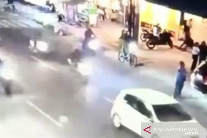 Polisi buru geng motor begal pesepeda di Grogol Petamburan