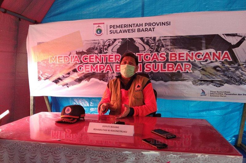 BNPB targetkan penyelesaian dampak gempa Sulbar selesai enam bulan