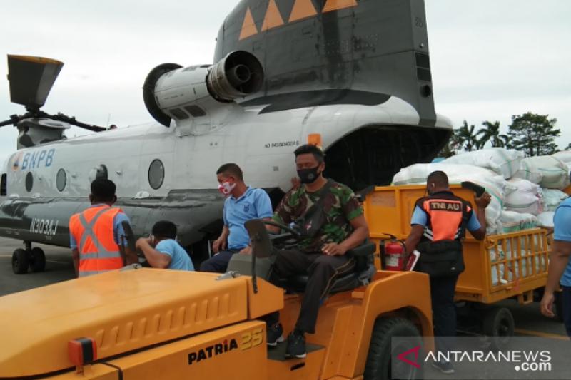 Lanud Haluoleo kirim 5 ton bantuan kemanusiaan tahap II ke Sulbar