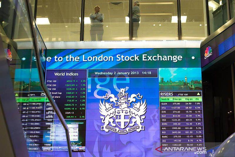 Saham Inggris kembali menguat, indeks FTSE 100 melonjak 2,52 persen