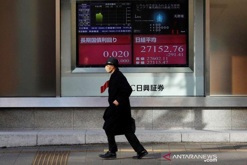 Saham Tokyo turun karena kekhawatiran peningkatan COVID-19 di Jepang