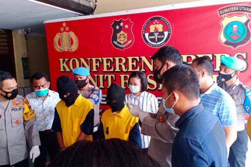 Polisi ringkus dua pelaku penyiraman air keras di Kota Medan